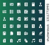 notepad icon set. collection of ...   Shutterstock .eps vector #1311773993