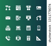 website icon set. collection of ...