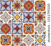 mexican talavera ceramic tile... | Shutterstock .eps vector #1311795320