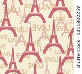 seamless background with the...   Shutterstock .eps vector #1311802259