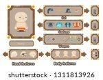 game character generation... | Shutterstock .eps vector #1311813926