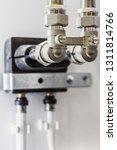 ceramic metal pipes  couplings... | Shutterstock . vector #1311814766