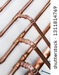 copper pipes and fittings for... | Shutterstock . vector #1311814769