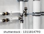 ceramic metal pipes  couplings... | Shutterstock . vector #1311814793