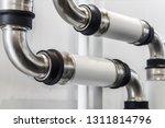ceramic metal pipes  couplings... | Shutterstock . vector #1311814796