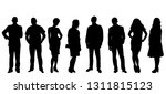 collection of people... | Shutterstock .eps vector #1311815123