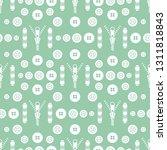 seamless pattern with zipper ...   Shutterstock .eps vector #1311818843