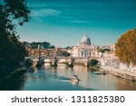 rome  italy. papal basilica of... | Shutterstock . vector #1311825380