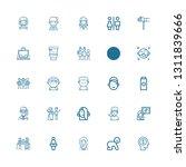 editable 25 boy icons for web... | Shutterstock .eps vector #1311839666