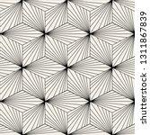 abstract geometric hexagon cube ... | Shutterstock .eps vector #1311867839