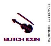 violin icon flat. simple... | Shutterstock .eps vector #1311879776