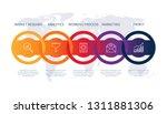 product chart design data... | Shutterstock .eps vector #1311881306