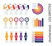 data business infographic... | Shutterstock .eps vector #1311895703