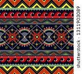 ukrainian seamless geometric... | Shutterstock .eps vector #1311903089