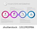 vector multipurpose infographic ... | Shutterstock .eps vector #1311903986