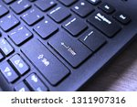 enter button on laptop keyboard.... | Shutterstock . vector #1311907316