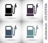 vector icon gas station 10 eps   Shutterstock .eps vector #1311929336