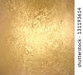 Abstract Gold Background Foil...