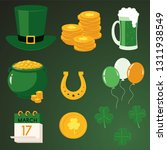 st patrick day traditional... | Shutterstock .eps vector #1311938549