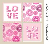 set of seamless pattern and...   Shutterstock .eps vector #1311939926