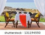 Dinner Table Near Beach