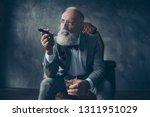 minded  ponder rich man in... | Shutterstock . vector #1311951029