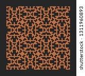 decal pattern. laser cutting... | Shutterstock .eps vector #1311960893