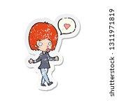 retro distressed sticker of a... | Shutterstock .eps vector #1311971819