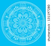 ornamental round lace  circle... | Shutterstock .eps vector #131197280