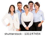 successful business team... | Shutterstock . vector #131197454