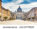 View On The Vatican In Rome ...