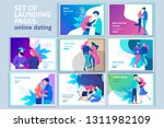 vector people character.... | Shutterstock .eps vector #1311982109