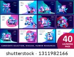 concept landing page template... | Shutterstock .eps vector #1311982166