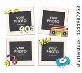 cartoon art styles. template... | Shutterstock .eps vector #1311987953