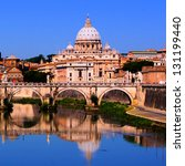 View Of The Vatican Across The...