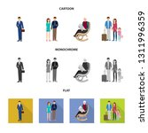vector design of character and... | Shutterstock .eps vector #1311996359