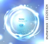 vector glossy sphere. abstract...
