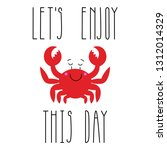 vector image of sea animal....   Shutterstock .eps vector #1312014329