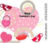 valentine's day  mug  lock ...   Shutterstock .eps vector #1312162220