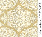 orient vector classic yellow...   Shutterstock .eps vector #1312184993