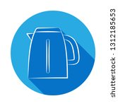 electric kettle icon. signs and ...