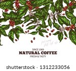 vector banner template with... | Shutterstock .eps vector #1312233056