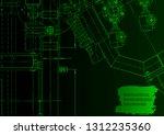 vector engineering illustration.... | Shutterstock .eps vector #1312235360