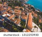 aerial view of herceg novi city ... | Shutterstock . vector #1312253930