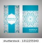 flyer  flyer  cover  pattern... | Shutterstock .eps vector #1312255343