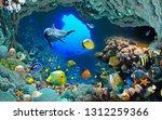 Underwater Fish Aquarium...