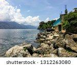 san pedro la laguna  guatemala  ...   Shutterstock . vector #1312263080