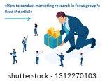 isometric template banner... | Shutterstock .eps vector #1312270103