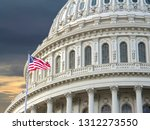 the united states capitol in...   Shutterstock . vector #1312273550