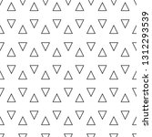 small triangles ornament... | Shutterstock .eps vector #1312293539